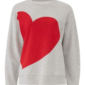 kate spade Tops - NWT Kate Spade Heart Sweatshirt